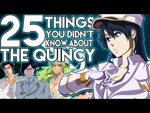 25 Things You Probably Didn't Know About The Quincy From Bleach (25 Facts) | The Week Of 25's #5