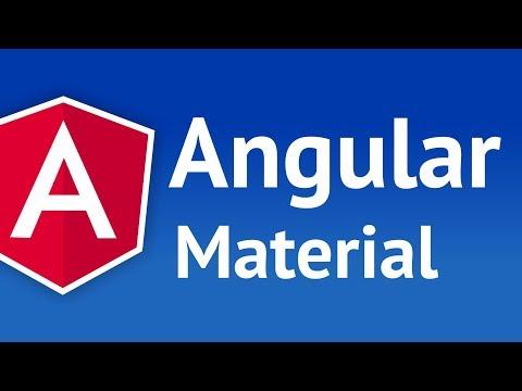 Angular Material Tutorial | Mosh