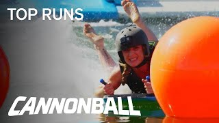 Cannonball   Jessica-Lee Almost Pees Her Pants On The Mega Slide   Season 1 Episode 1   USA Network