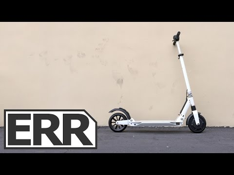 E-Twow Booster Electric Kick Scooter Video Review