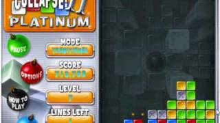 Super Collapse 2 Platinum Traditonal Mode (Reached Level 13 High Score: 3,054,052) (Part 1 Out of 2)