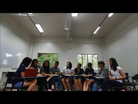 Group Discussion of Group 1 (THU)