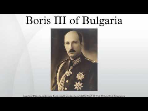 Boris III of Bulgaria