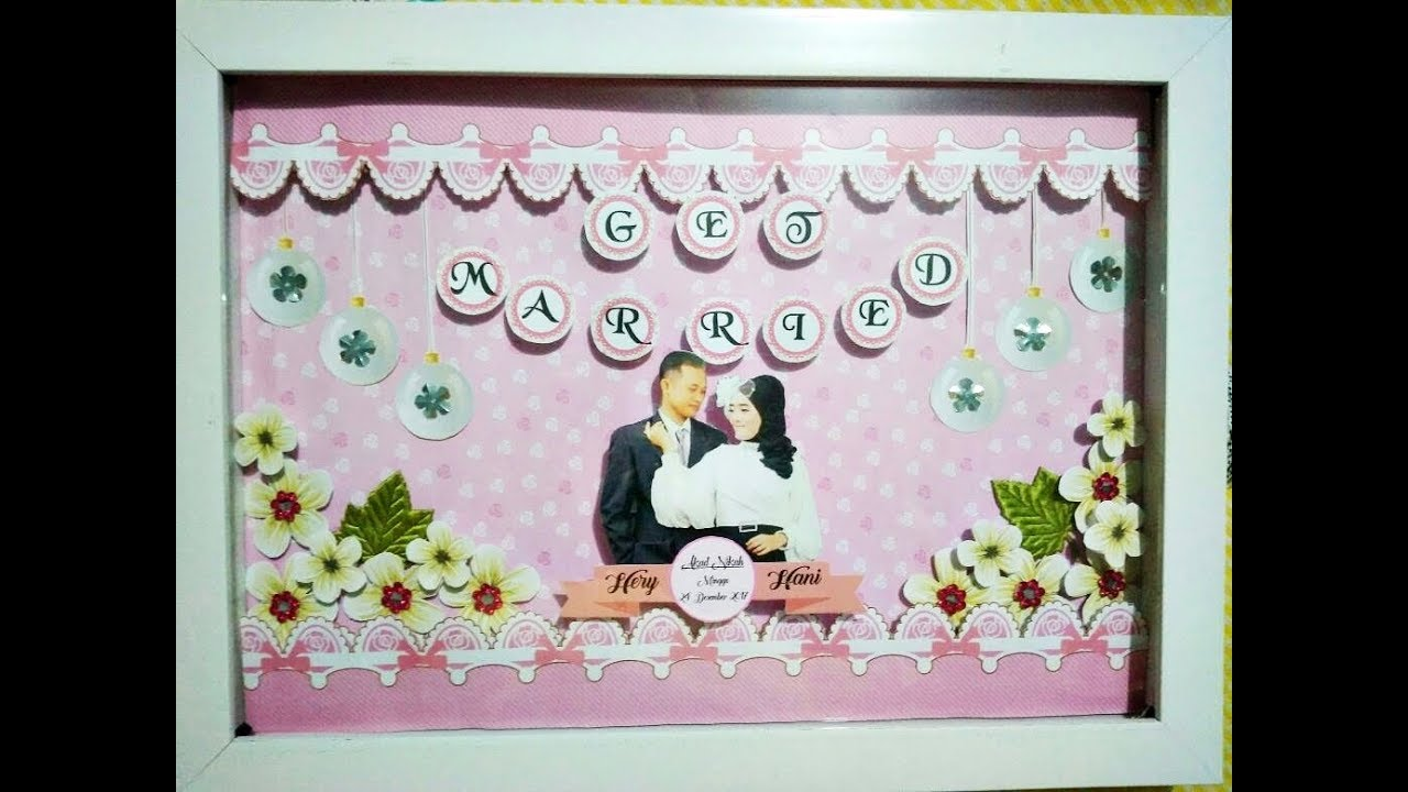 tutorial membuat pop up frame wedding youtube tutorial membuat pop up frame wedding