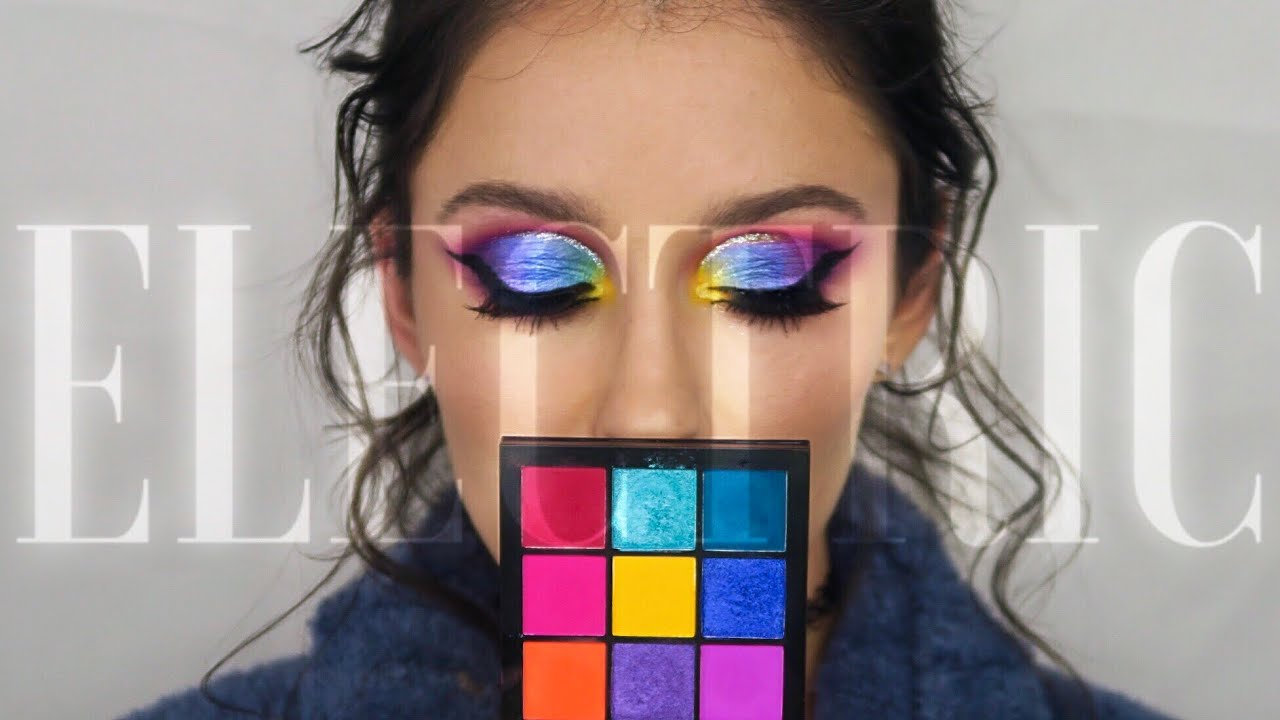 ELECTRIC OBSESSIONS BY HUDA BEAUTY | First Impressions, Cut-Crease Tutorial, and Review
