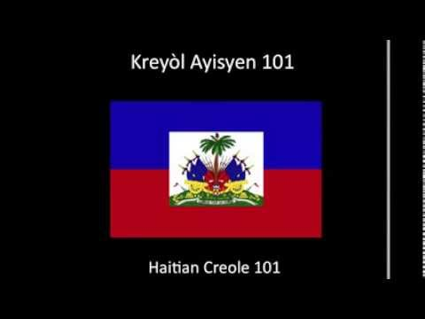 Learn Haitian Creole- Creole 101 (lesson one)