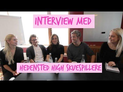 ♡ Interview med en masse lækre Skuespillere! ♡