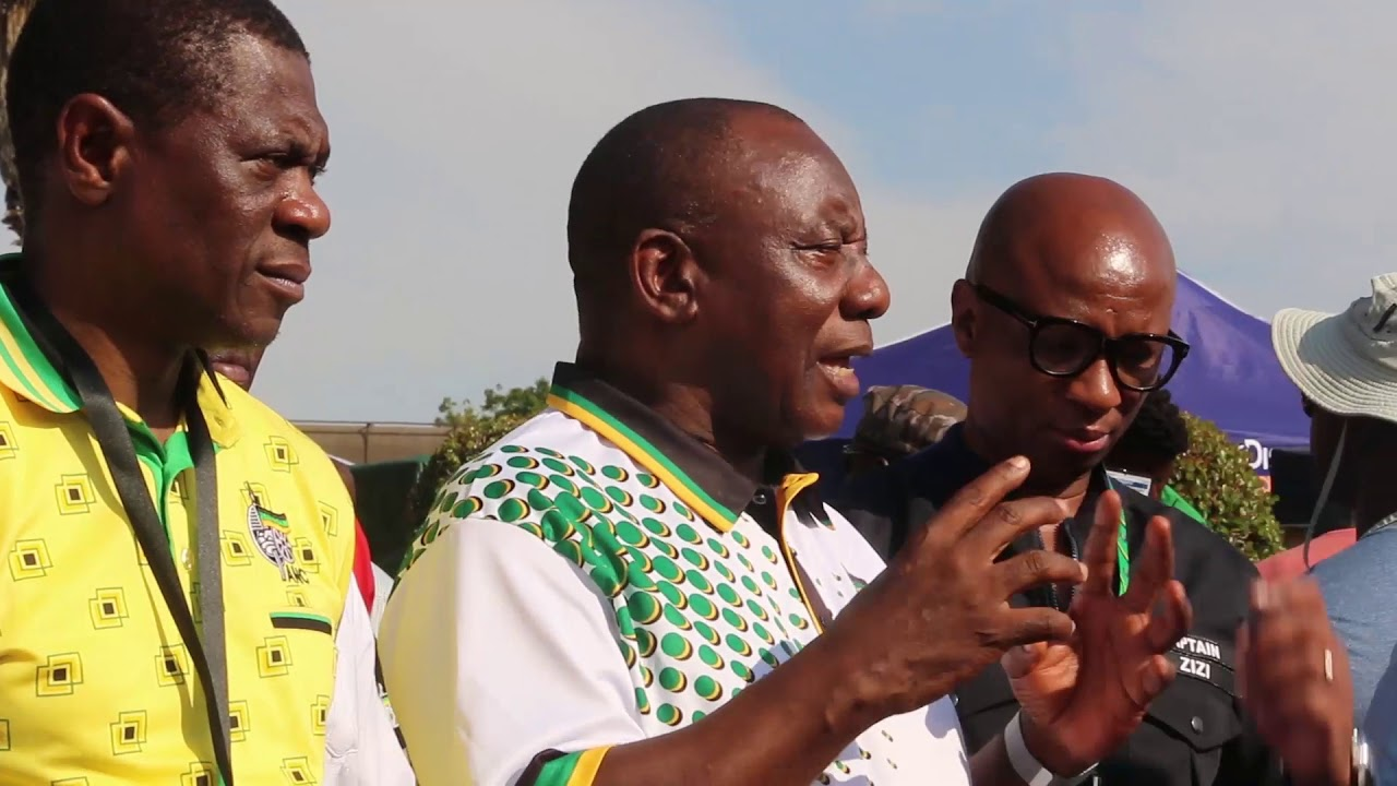 Ramaphosa's first media address as ANC president