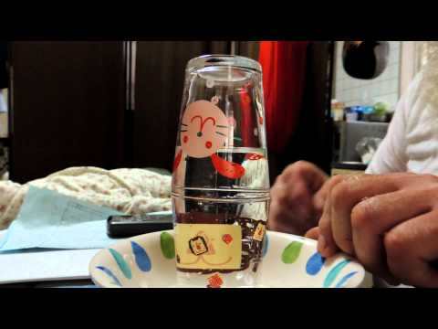 MAGIC TRICK WITH COINS AND WATER,PLEASE TRY ITS EASY