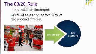 Project 3 80/20 Rule