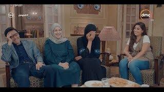 مشهد كوميدي لـ وفاء عامر شوف بتفكر في ايه بعد ما ورثت 300 مليون جنيه #الطوفان