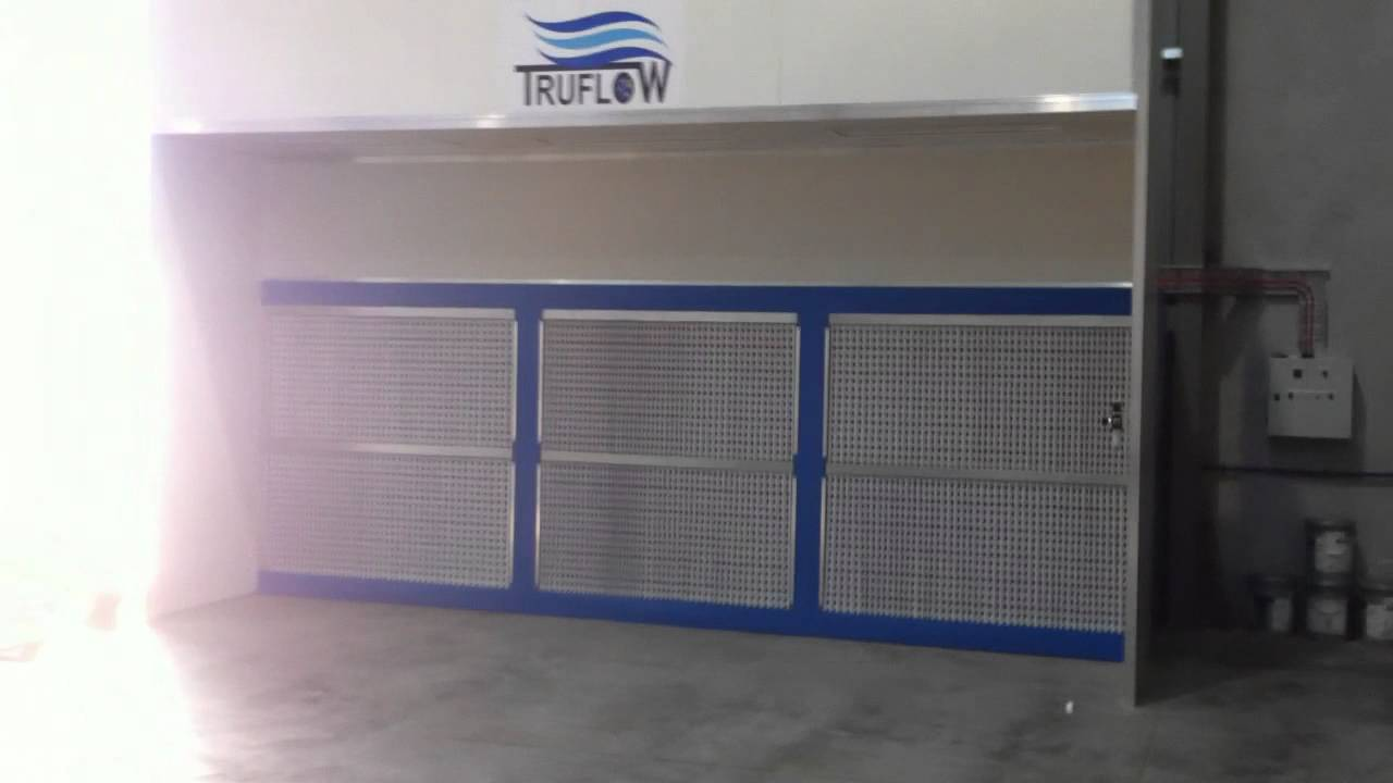 Extraction Spray Booth Industrial Applications