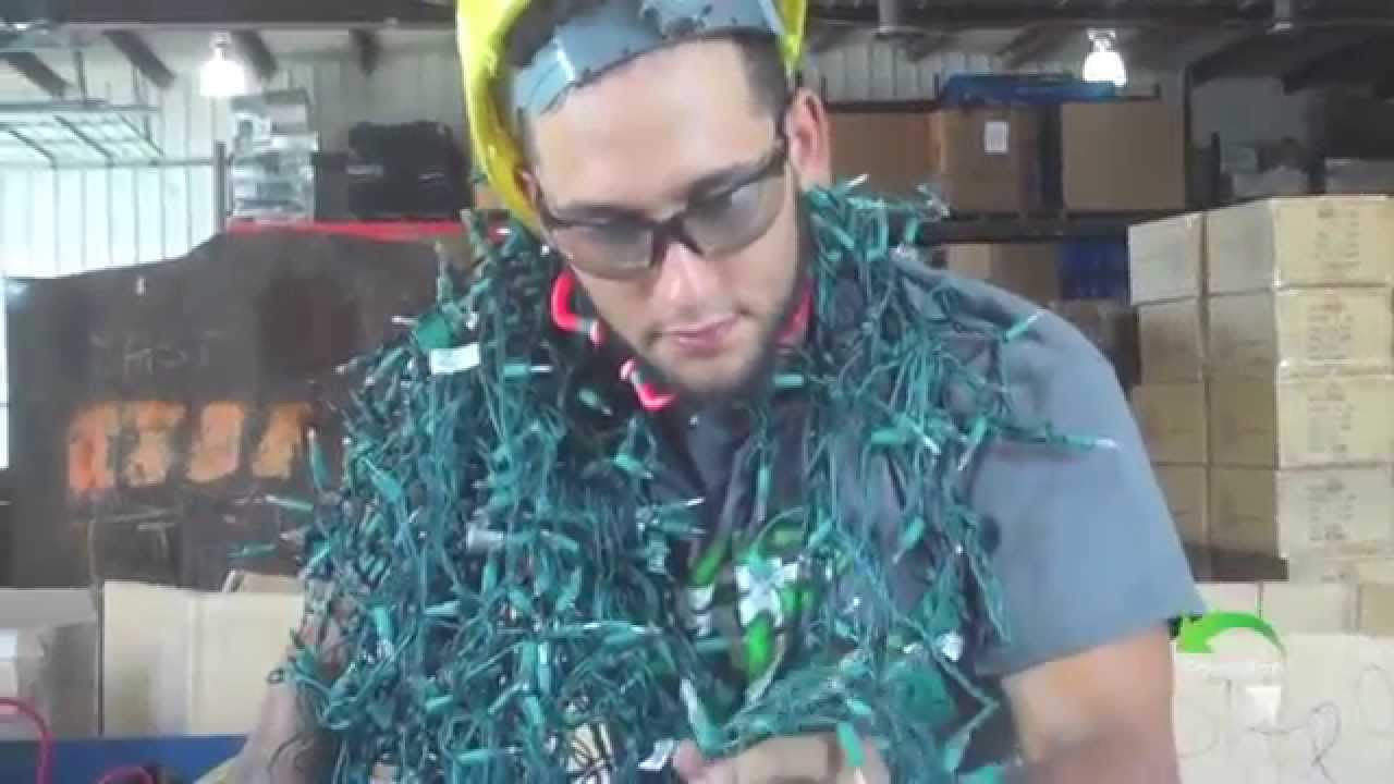 Scrapping Christmas Lights