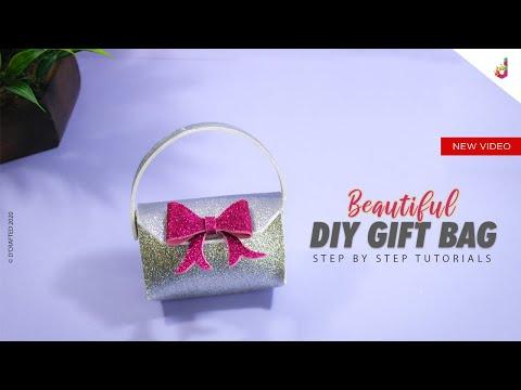 Gift Bag Ideas | DIY | Gift Bag Making | Foam Sheet Craft