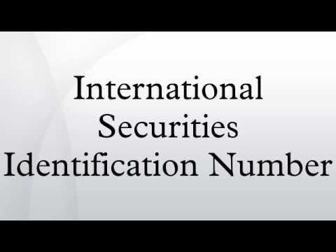 International Securities Identification Number
