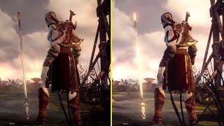 God of War Ascension E3 2012 Demo vs Retail PS3 2013 Graphics Comparison