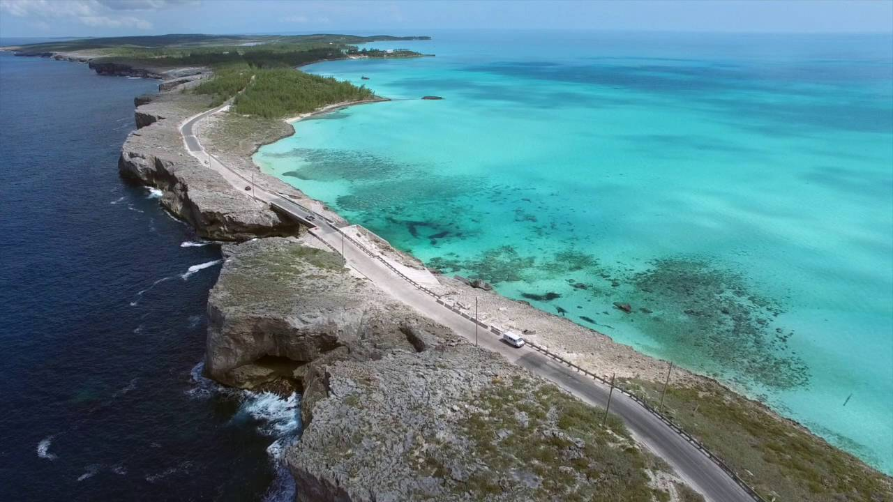 Glass Window Bridge Eleuthera Bahamas Click Hd Youtube