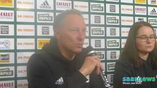 Pressekonferenz nach dem Pokal-Viertelfinale FC Homburg gegen FCS am 14.3.18