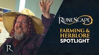 The Ranch Out of Time, Farming and Herblore 120 land in RuneScape!