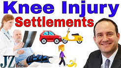 Knee Injury Settlements (Car and Motorcycle Accidents, and More)
