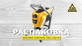 Огляд новинки. Краскопульт WAGNER CONTROL PRO 250 M. #220вольтраспаковка