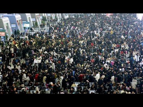 شاهد: أكبر هجرة بشرية في العالم  - نشر قبل 2 ساعة