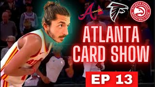 Atlanta Sports Cards Show — 🏈 cards are getting HOT |  EP 13 (Sports Card Investing)