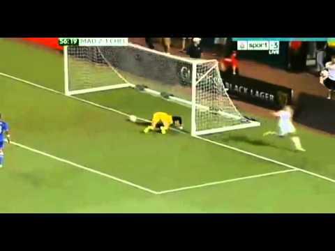 Cristiano Ronaldo Amazing Head Goal Real Madrid 3-1 Chelsea クリロナ頭で決める August 7th 2013