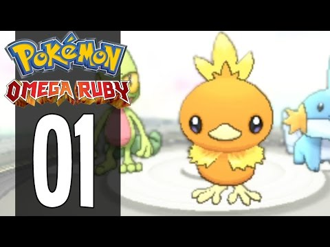 Pokemon Omega Ruby and Alpha Sapphire - Part 1 (Gameplay Walkthrough)