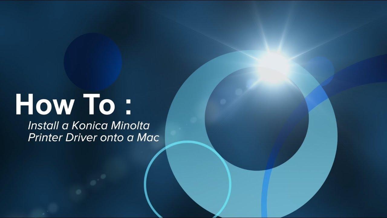 Konica minolta bizhub c220 driver mac | konica minolta drivers.