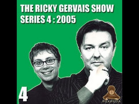 Ricky Gervais Show XFM (91) I've Got This Three Quid In My Pocket, Bassline Chimp and more