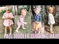 FALL TODDLER GIRL CLOTHING HAUL 2019| Tres Chic Mama