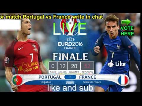 portugal vs france live now