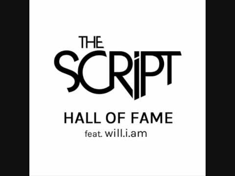 The Script - Hall of Fame (Instrumental) ft will.i.am (Lyrics in description)
