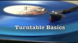Turntable Basics - How to get into vinyl: 5 tips you NEED to know