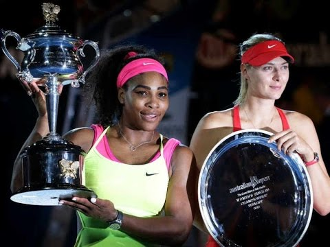 Serena Williams VS Maria Sharapova Highlight 2015 Final
