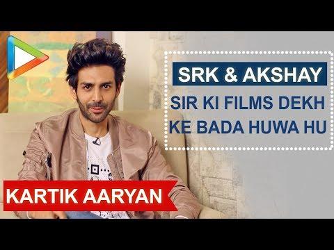 Kartik Aaryan:  SHAH RUKH KHAN Sir is My All time Favourite Actor  | Twitter Fan Questions