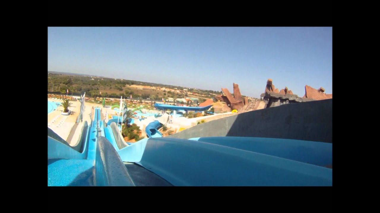 Kamikaze Slide & Splash Algarve GOPRO HD - YouTube