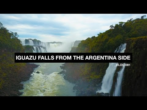 Iguazu Falls from the Argentina Side - Vlog 91