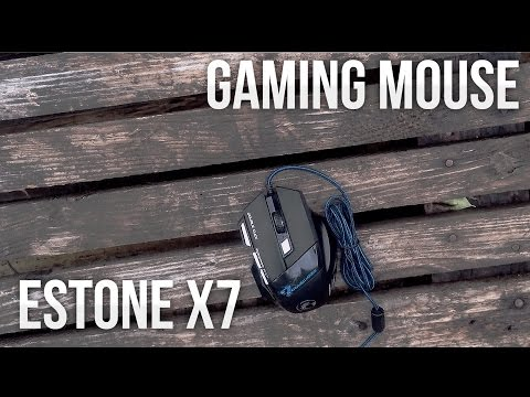 Estone X7 Gaming Mouse - Review & Unboxing