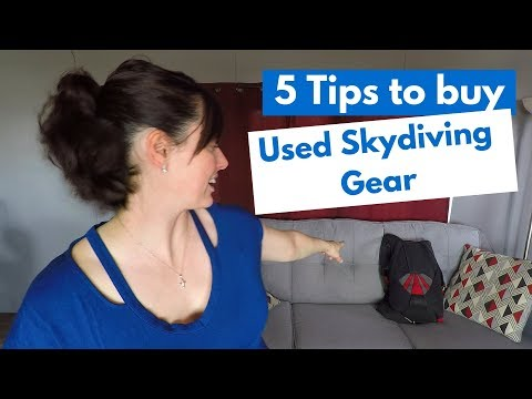 Skydiving Gear - How To Buy Used Skydiving Gear (5 Tips)