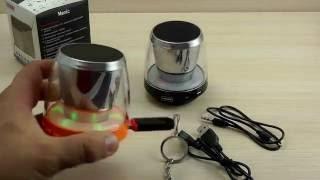 ОБЗОР: Прикольная Bluetooth Колонка с Подсветкой, USB и MP3(, 2016-08-09T08:24:11.000Z)