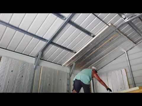 Insulation in my metal garage