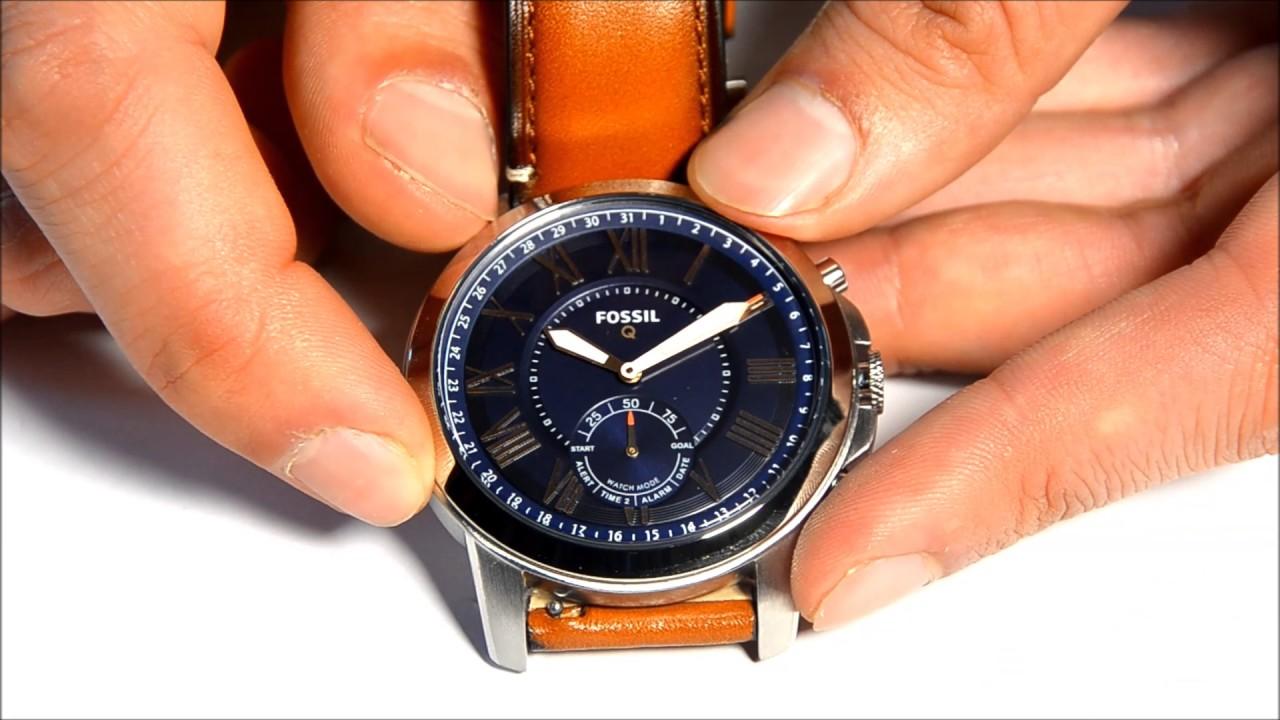 362172315b32 Fossil Q Grant - Smartwatch.de Unboxing  DEUTSCH  - YouTube