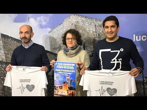 VÍDEO: Todavía puedes inscribirte en la I San Silvestre de Lucena a beneficio de Infancia Solidaria.