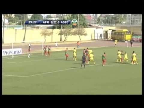 L'Africa Sports bat l'Asec d'Abidjan sur un score de 2 buts à 0