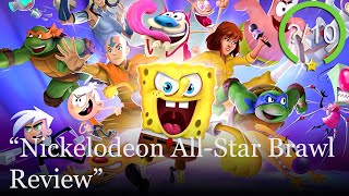 Nickelodeon All Star Brawl Review [PS5, Series X, PS4, Switch, Xbox One, & PC] (Video Game Video Review)