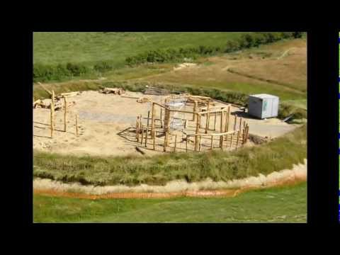 Building Celtic roundhouses