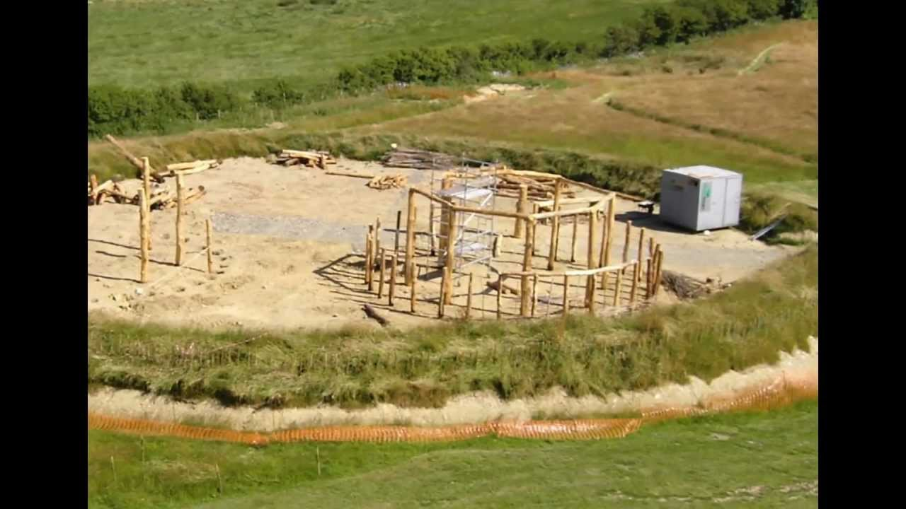 Building Celtic Roundhouses Youtube