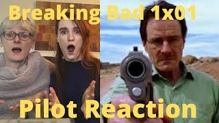 """Breaking Bad Season 1 Episode 1 """"Pilot"""" REACTION!!"""